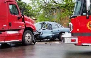 car and truck accident in new orleans
