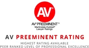 AV Preeminent Rating Badge