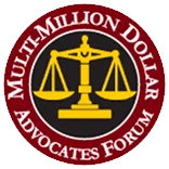 MultiMillion Dollar Advocates Forum Badge