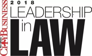 2018 CityBusiness Leadership in Law Award