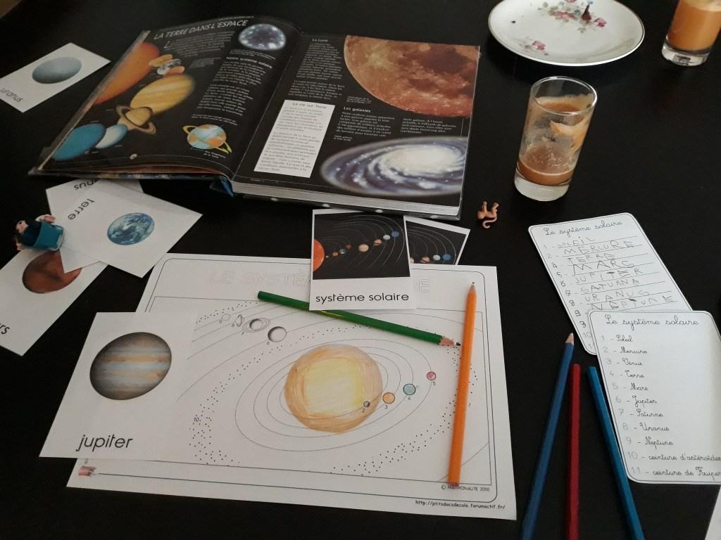 Direction le système solaire !