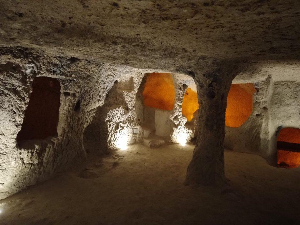 Les cités souterraines de Turquie