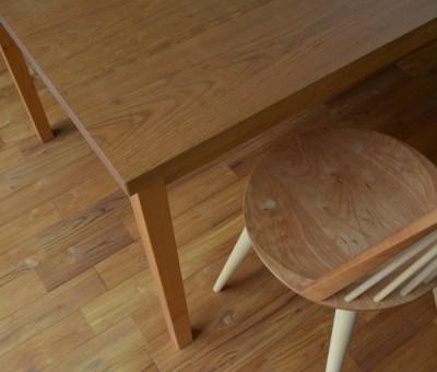 Bo Chair ブラックチェリー+メープル