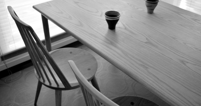 Bo chair black cherry