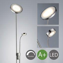 B.K. Licht - Lámpara LED de pie Foco de Techo Foco de Techo