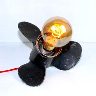 Lampe LAMPDA hélice noire GM