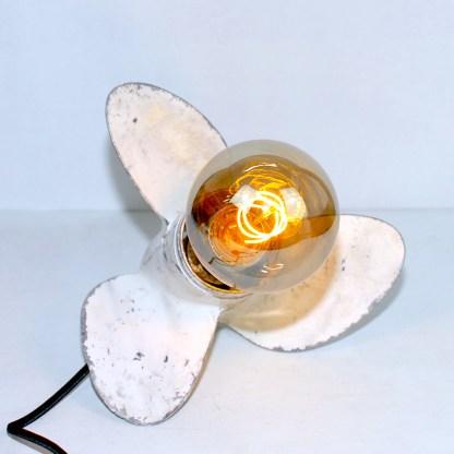 Lampe LAMPDA hélice blanche GM