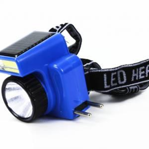 BonQ LED hoofdlamp - Zonnepaneel