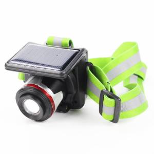 BonQ Solar Hoofdlamp - Inclusief oplader - 160 Lumen