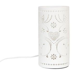 Clayre & Eef Tafellamp Ø 10x20 cm / E27/max 1x30W