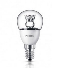 E14 kogellamp 4W warm