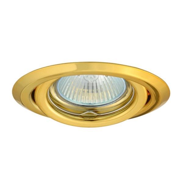 Kanlux kantelbaar inbouwarmatuur Goud + MR16 / GU5.3 fitting