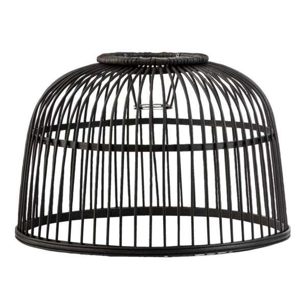 Lampenkap Jack - zwart - Ø41,5 cm - Leen Bakker