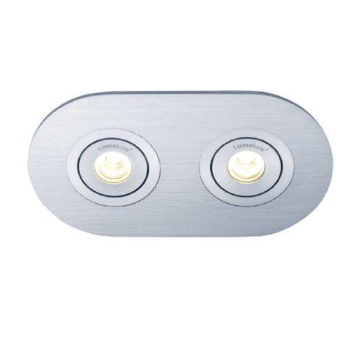 Lamponline Inbouwspot Luzern LED ovaal