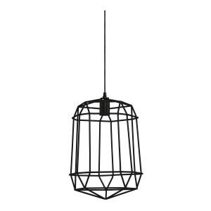 Light&Living Hanglamp MOLUN zwart 44 x 33 x33