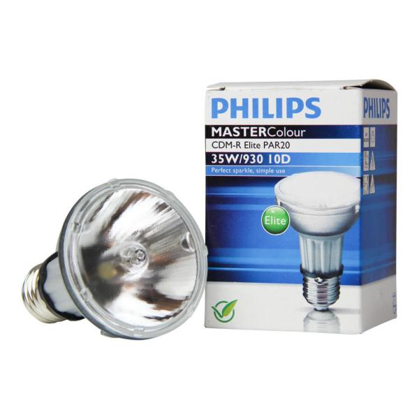 Philips MASTERColour CDM-R Elite 35W 930 E27 PAR20 10D
