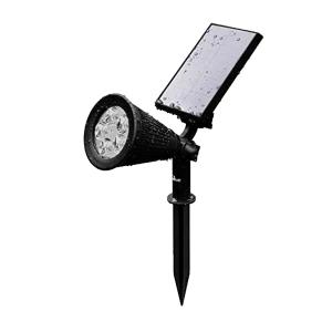Solar spot Highlight voor wandmontage of grondspies - buitenlamp op zonne energie