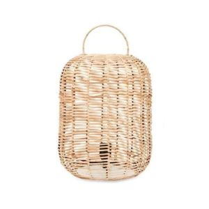 Nkuku Noko Wicker Lamp Natural Small