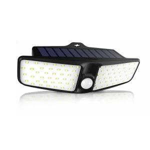 80 LED Solar Wandlampen Outdoor Beveiliging Verlichting Nachtlampje Bewegingssensor Lamp Waterdicht IP65 Tuin Achterdeur Stap Traphek Dek Yard Oprit