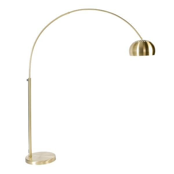 Zuiver vloerlamp Bow goud metaal 190 - 205 x 170 x 39