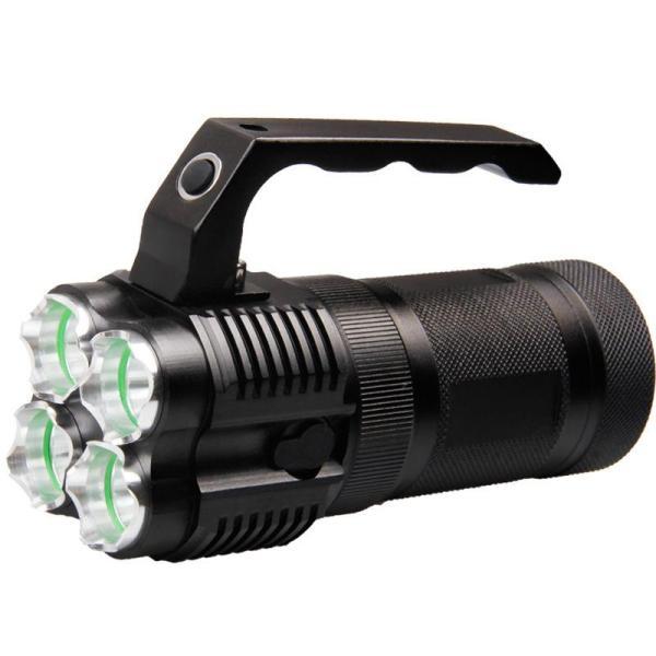 xml 4xl2 1500 lumen 5-standen dc direct oplaadbare 18650 LED-zaklamp buiten waterdicht verlichting zaklamp