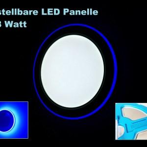 LED Panel Blau