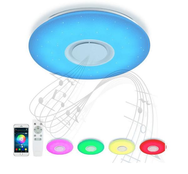 Lampe mit Bluetooth Lautsprecher