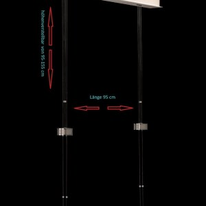 Hängeleuchte LED dimmbar höhenverstellbar