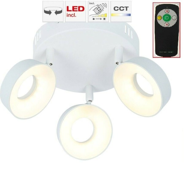 LED BRILLIANT TYEORY Deckenlampe