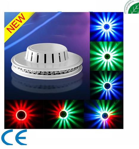 LED UFO Lights Effekt Sunflower 48 RGB