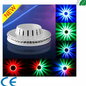 LED UFO Lights Effekt Sunflower 48 RGB
