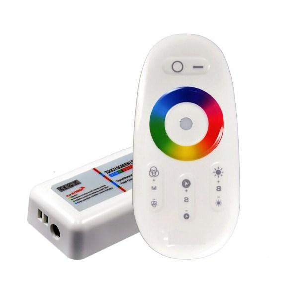 LED Controller RGB - IR Fernbedienung Touch & Funk