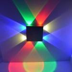 LED Wandlampe Farbig