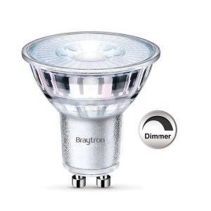 GU10 LED Leuchtmittel Glas Dimmbar