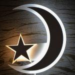 Mond Wandlampe – LED Wandleuchte   Cyber Sale %