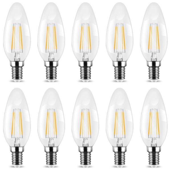 E14 LED Birne - 10x Kerzen C35 | Discount Lampen