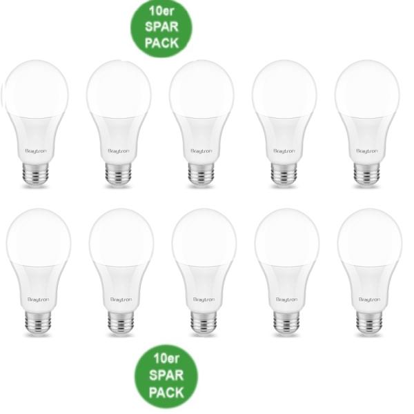 E27 LED Birne 10 x LED E27 Leuchtmittel Glühbirne