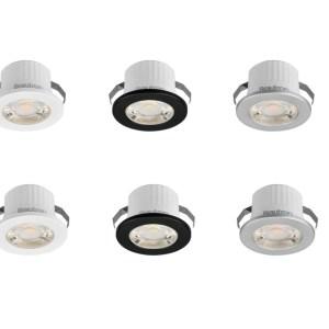 LED Mini Spot strahler Einbauleuchte Einbaustrahler EinbauDecken Spotlight IP54