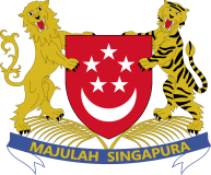 Singapore's coat of arms has both a lion and a tiger