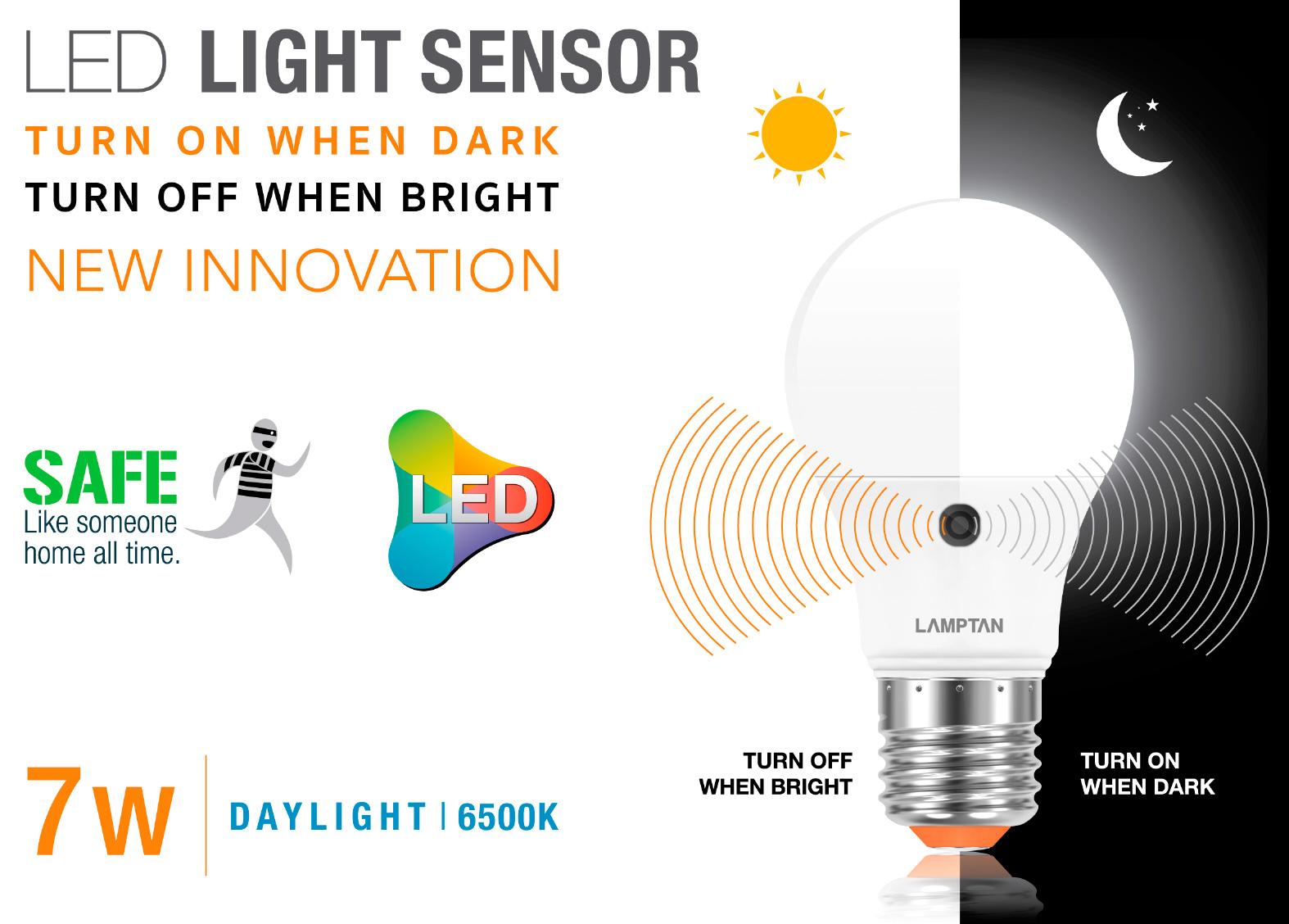 Led Light Sensor Lamptan Maldives