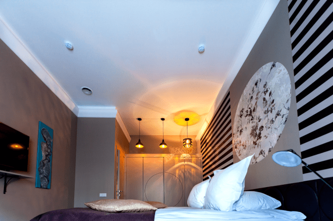 ceiling lights in bedroom