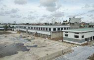 Hình ảnh vệ sinh làm sạch khu kỹ thuật nhà máy nước An Dương