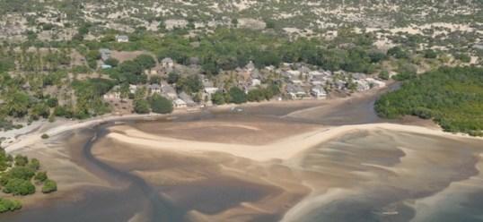 Kipungani aerial