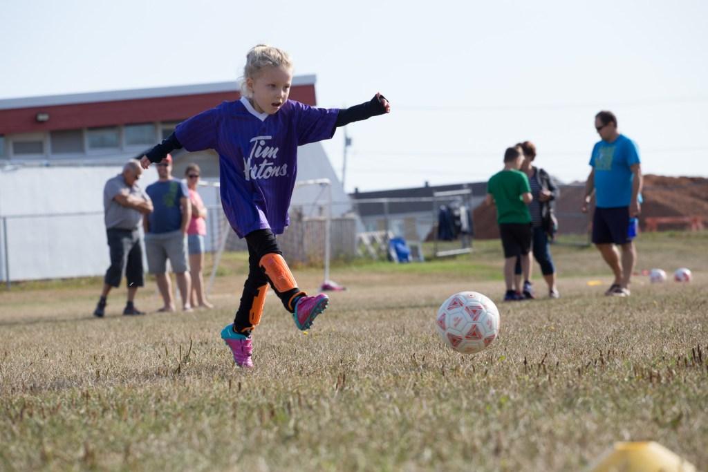 Une vitesse d'obturation rapide est souvent utilisée pour des photos sportives.