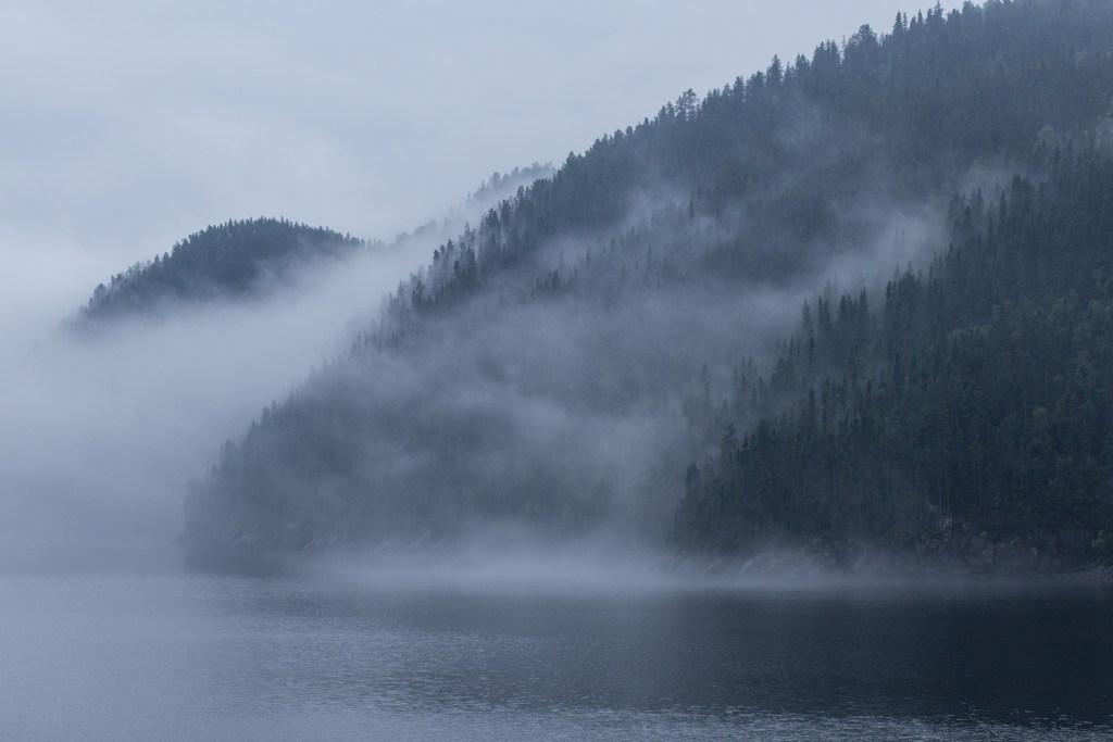 Une balance des blancs de lumière du jour est utilisée afin de créer cette photo atmosphérique.