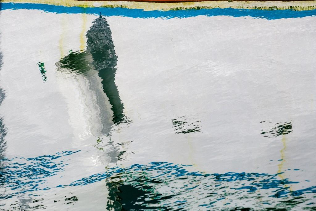 Les reflets dans l'eau offrent une variété infinie de photos.