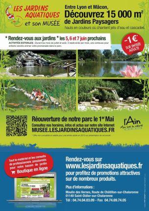 Plaquette les Jardins Aquatiques