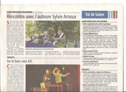 Presse Sylvie Arnoux