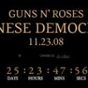 Chinese Democracy, dénouement le 23 novembre