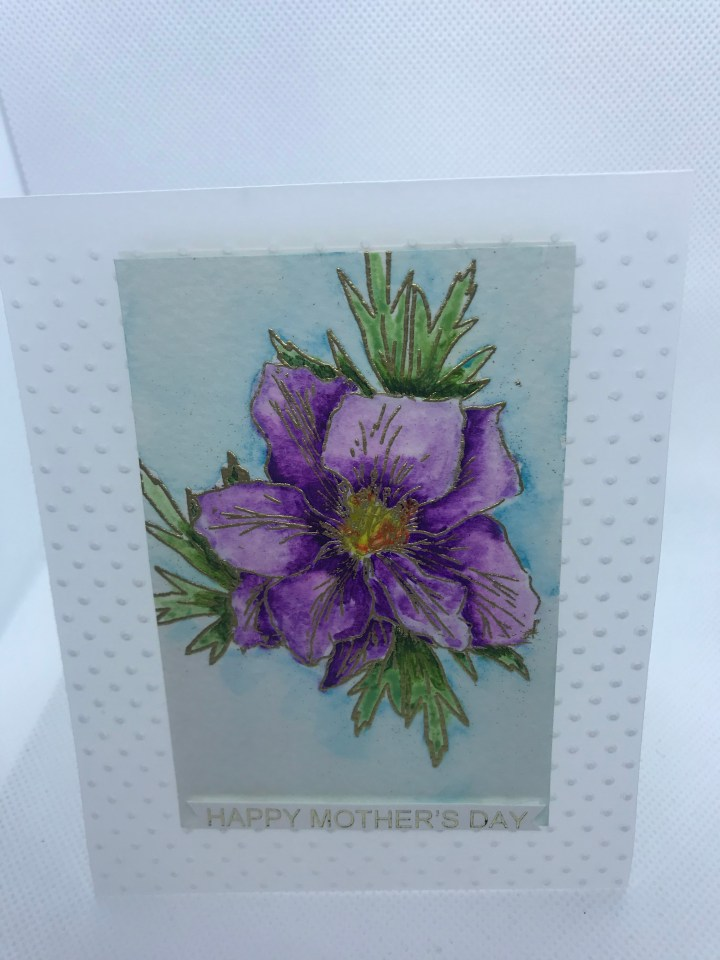 handcrafted greeting cards hand painted made in US
